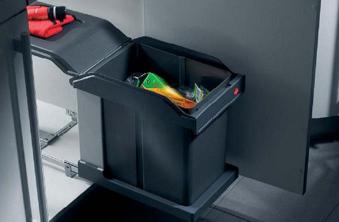 Выдвижное мусорное ведро для кухни купить