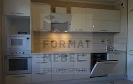 Дизайн кухни с коробом вентиляции