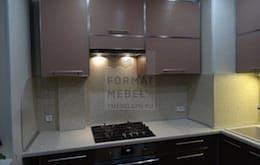 Современная кухня в городской квартире