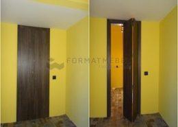 Дверь гармошка для комнаты и антресоль